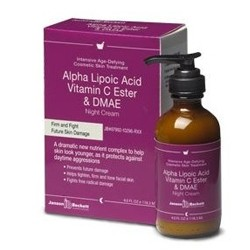 Janson Beckett Alpha Lipoic Vitamin C Ester Dmae Night Cream