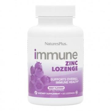 Natures Plus Immune Zinc Lozenge 60 Lozenges