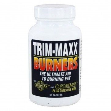 Body Breakthrough Trim-Maxx Burners with Citrimax and ChromeMate 120 Tablets
