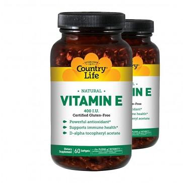 Country Life Natural Vitamin E 400 IU