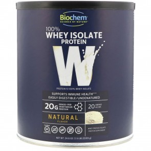 Biochem 100% Whey Protein Powder Natural - 24.6 oz.