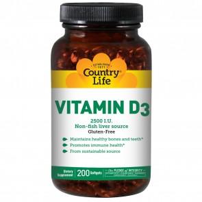 Vitamin D3 2500iu 200 softgels