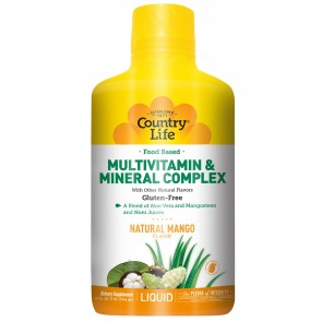 Country Life Liquid Multivitamin Mango Flavor 32 fl oz