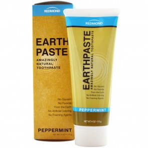 Redmond Trading Company Earthpaste Toothpaste Peppermint 4 oz