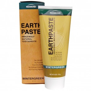 Redmond Trading Company Earthpaste Wintergreen 4 oz