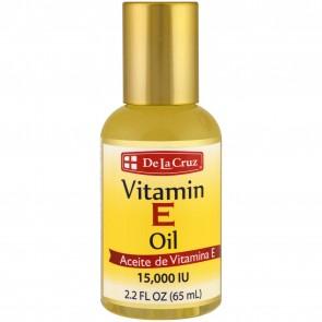 De La Cruz Vitamin E Oil 15,000 IU 2.2 fl oz (65 mL)