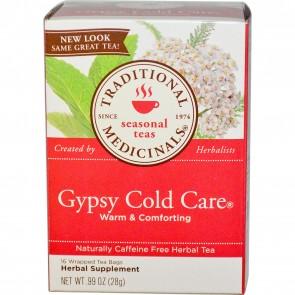 Traditional Medicinals, Herbal Tea, Gypsy Cold Care, Caffeine Free, 16 Tea Bags, .99 oz (28 g)