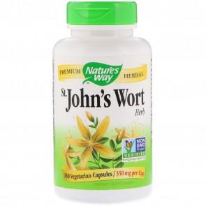 St John's Wort Herb 180 Capsules by Nature's Way
