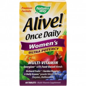Nature's Way Alive Once Daily Women's 60 Count