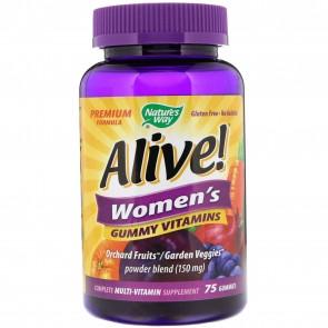 Nature's Way Alive! Women's Vitamins 75 Gummies