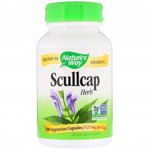 Scullcap 100caps By Nature's way