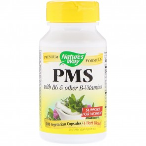 PMS with vitamin b6 and hip By nature's way
