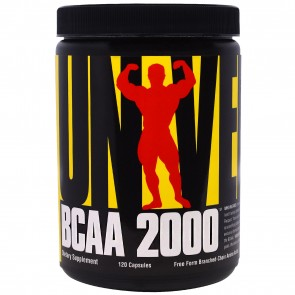 BCAA 2000 120 Capsules by Universal Nutrition