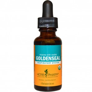 Herb Pharm, Rhizome With Rootlet Goldenseal, 1 fl oz (30 ml)