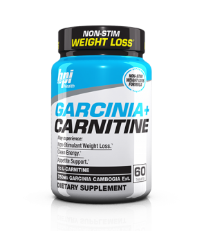 BPI Health Garcinia + Carnitine 60 Tablets
