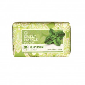 Desert Essence Peppermint Soap Bar 5 oz
