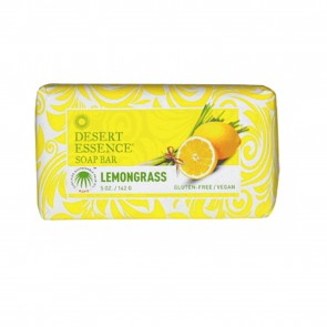 Desert Essence Lemongrass Soap Bar 5 oz
