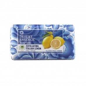Desert Essence Exfoliating Italian Lemon Soap Bar 5 oz