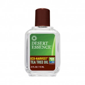 Dessert Essence Eco-Harvest Tea Tree Oil .5 fl oz