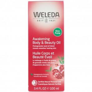 Weleda Pomegranate Regenerating Body Oil 3.4 fl oz