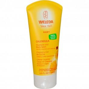 Weleda Baby Calendula Shampoo and Body Wash 6.8 oz