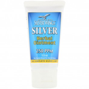 Natural Path Silver Wings Silver Herbal Ointment 250 PPM 1.5 oz
