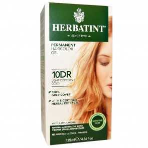 Herbatint Herbal Haircolor Gel Permanent 10DR (Light Copperish Gold)