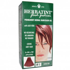 Herbal Haircolor Gel Permanent FF1 Henna Red by Herbatint