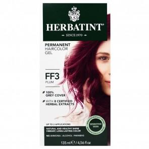 Herbal Haircolor Gel Permanent FF3 Plum by Herbatint