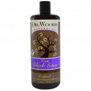 Dr. Woods Raw Black Soap Original 32 fl oz