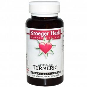 Kroeger Herbs Herbal Combinations Turmeric 900 mg. 100 Vegetarian Caps