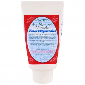 Tate's The Natural Miracle Toothpaste 5 oz