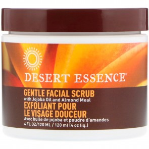 Desert Essence Facial Scrub Gentle Stimulating 4oz