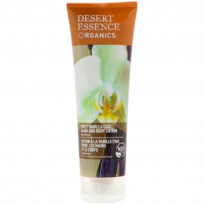 Desert Essence Vanilla Chai Hand and Body Lotion