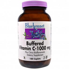 Bluebonnet Buffered Vitamin C 1000 mg 180 Caplets