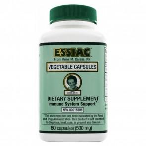 Essiac International- Herbal Supplement- Vegicaps - 60 Capsules