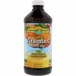 Liquid Vitamin C Natural Citrus 1000 mg 16 fl oz by Dynamic Health