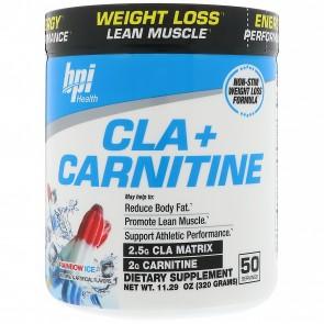 BPI Health CLA + Carnitine Rainbow Ice 300 Grams (50 Servings)