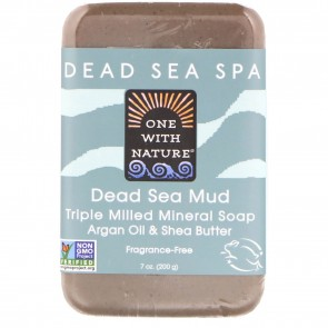 One With Nature-Dead Sea Mud Soap 7 oz