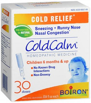 Boiron Coldcalm Liquid Doses For Infants 30 Doses