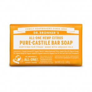 Dr. Bronner's Pure Castile Soap Citrus Orange 5 oz