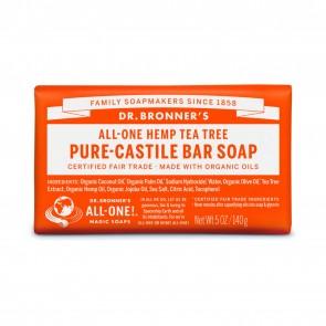 Dr. Bronner's Pure Castile Soap Bar Tea Tree 5 oz