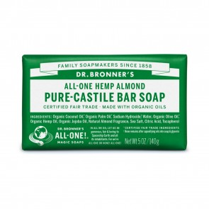 Dr. Bronner's Pure Castile Bar Soap Almond 5 oz