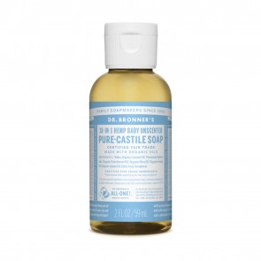Dr. Bronner's Pure Castile Liquid Soap Baby Mild 2 oz