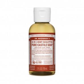 Dr. Bronner's Pure Castile Liquid Organic Soap Eucalyptus 2 oz