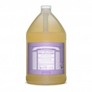 Dr. Bronner's Pure Castile Liquid Organic Soap Lavender 1 Gallon