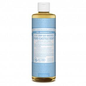 Dr. Bronner's Pure Castile Liquid Soap Baby Mild 16 oz