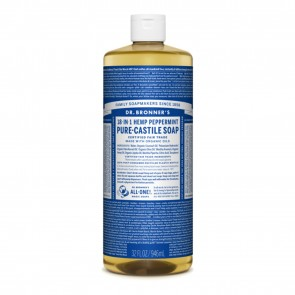 Dr. Bronner's Pure Castile Soap Peppermint 32 oz