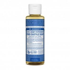 Dr. Bronner's Pure Castile Soap Peppermint 4 oz