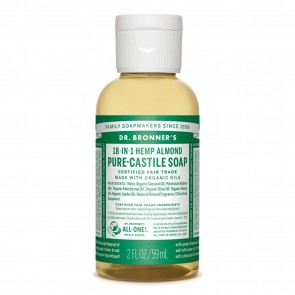 Dr. Bronner's Pure Castile Liquid Organic Soap Almond 2 oz
